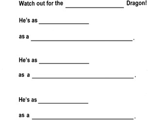 Dragon Writing Fun, Guided