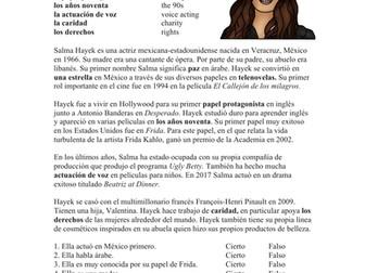 Salma Hayek Biografía: Spanish Biography on Famous Mexican Actress