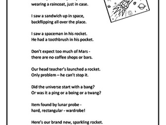Funny Space Rhymes