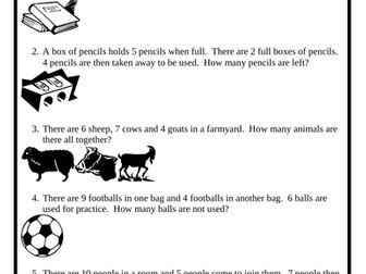 Year 3 Maths 2-step Word Problems