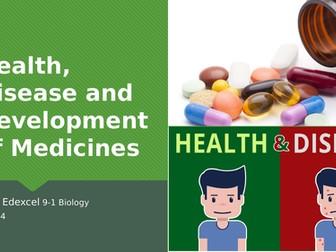 Edexcel GCSE 9-1 Biology Topic 5 – Heart, Disease and Development of Medicines