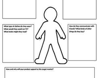 BTEC Tech award Component 2 making a pitch low ability worksheets