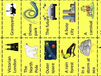 Creative Writing Idea Cards