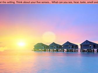 Creative Writing - Setting and 5 Senses