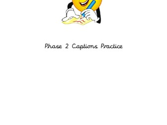 Handwriting Booklet Phase 2 Captions
