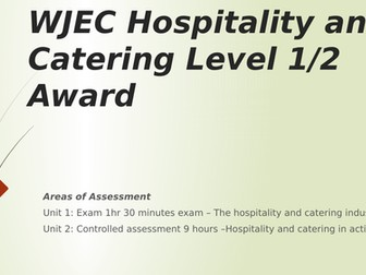 Hospitality and Catering revision powerpoint