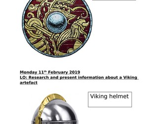 Researching a Viking artefact