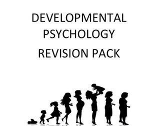GCSE (9-1) Revision for Developmental Psychology