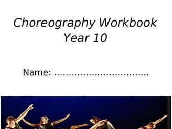 AQA GCSE Dance Choreography Booklet
