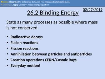 OCR A level Physics: Binding Energy