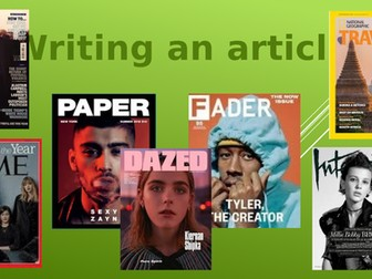 Writing Articles