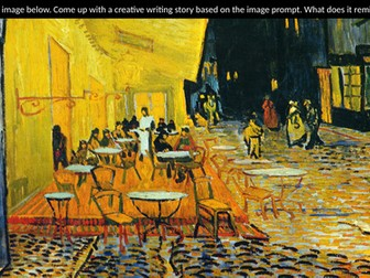 Creative Writing Prompts (Famous Paintings) 40+
