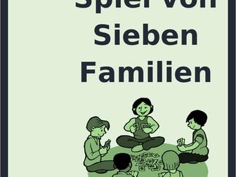 Essen (Food in German) Spiel von sieben Familien