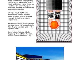 Installation Artist Factsheets - Research