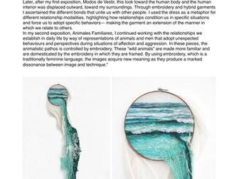 Textiles Artist Factsheets - Art & Design - Research