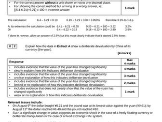 2-S Exchange Rate Systems AQA A-level Economics (new spec) MACRO