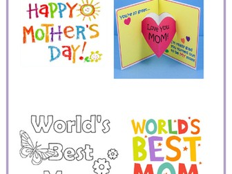 Mother & Father's Day Bundle by Lresources4teachers | Teaching Resources