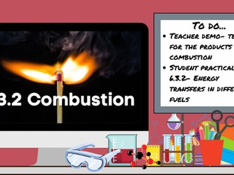 KS3 AQA Activate 6.3.2 Combustion