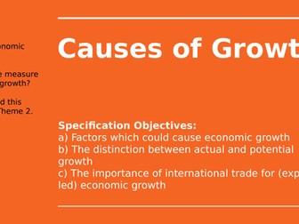 2.5.1 Economic Growth