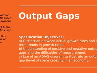2.5.2 Output Gaps