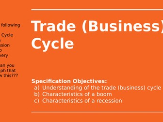 2.5.3 Trade (Business) Cycle