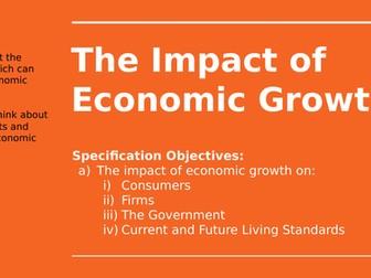 2.5.4 The Impact of Economic Growth
