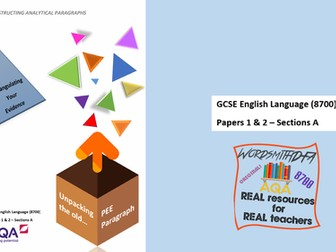 New Spec GCSE English Language - Triangulate Your Evidence & Finding Patterns Guidebook & PPT