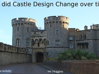 Market Place Activity - How did the design of castles change over time?