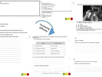 Edexcel Combined Science (9-1) Chemistry Paper 2 Exam Questions