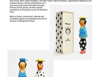 3D Art Factsheets - Art & Design - Research