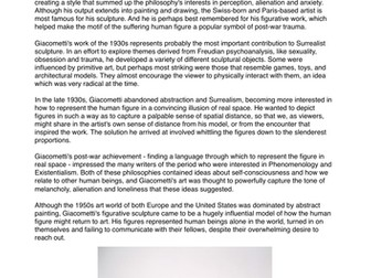 Conceptual Artist Factsheets - Art & Design - Research