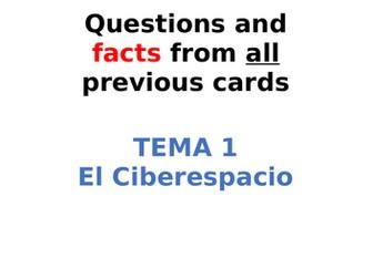AQA Spanish Facts and Questions Tema 1 - El Ciberespacio