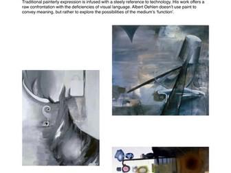 Modern Fine Artist Factsheets - Art & Design - Research