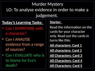 An Inspector Calls: Murder Mystery
