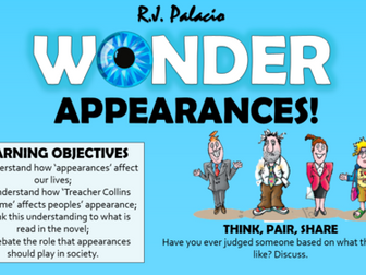 Wonder - The Theme of Appearances!