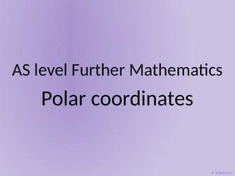 AS level Further Maths Polar coordinates