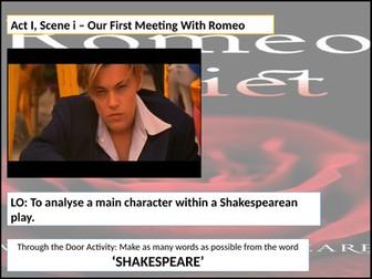 Romeo and Juliet: Act 1 Scene 2