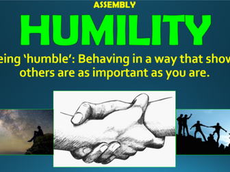 Humility Assembly!