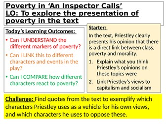 Poverty in An Inspector Calls