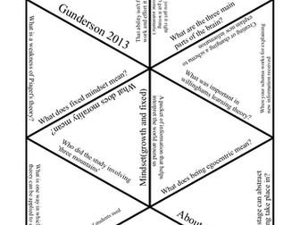 Developmental psychology tarsia puzzle