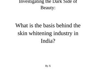 A* EPQ Dissertation Example