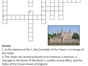 The Tower of London Crossword