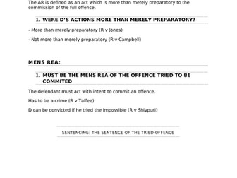 A-Level Law Attempts Structure Template