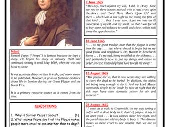 Samuel Pepys' Diary - The Plague!
