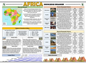 Africa Knowledge Organiser/ Revision Mat!