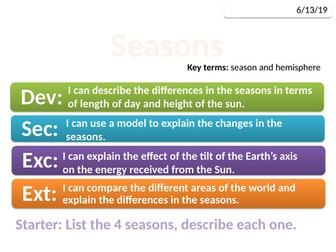 8Lb Seasons (Exploring Science)