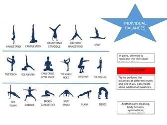 Gymnastics - balances