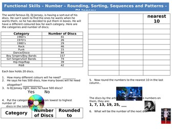 Functional Skills Maths - Number - DJ Jonsey