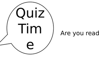 Quiz - Terms and Language