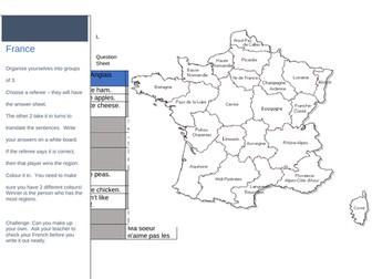French invasion - La nourriture